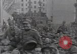 Image of Gabriele D'Annunzio leads force of volunteers Fiume Croatia, 1919, second 36 stock footage video 65675025861