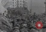 Image of Gabriele D'Annunzio leads force of volunteers Fiume Croatia, 1919, second 37 stock footage video 65675025861