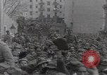 Image of Gabriele D'Annunzio leads force of volunteers Fiume Croatia, 1919, second 38 stock footage video 65675025861