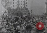 Image of Gabriele D'Annunzio leads force of volunteers Fiume Croatia, 1919, second 39 stock footage video 65675025861