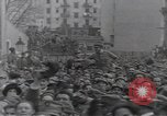 Image of Gabriele D'Annunzio leads force of volunteers Fiume Croatia, 1919, second 40 stock footage video 65675025861