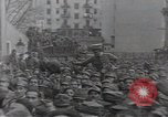 Image of Gabriele D'Annunzio leads force of volunteers Fiume Croatia, 1919, second 41 stock footage video 65675025861