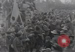 Image of Gabriele D'Annunzio leads force of volunteers Fiume Croatia, 1919, second 42 stock footage video 65675025861