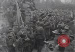 Image of Gabriele D'Annunzio leads force of volunteers Fiume Croatia, 1919, second 43 stock footage video 65675025861