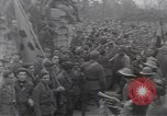 Image of Gabriele D'Annunzio leads force of volunteers Fiume Croatia, 1919, second 44 stock footage video 65675025861