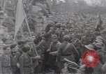 Image of Gabriele D'Annunzio leads force of volunteers Fiume Croatia, 1919, second 46 stock footage video 65675025861