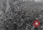 Image of Gabriele D'Annunzio leads force of volunteers Fiume Croatia, 1919, second 47 stock footage video 65675025861