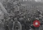Image of Gabriele D'Annunzio leads force of volunteers Fiume Croatia, 1919, second 48 stock footage video 65675025861