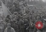 Image of Gabriele D'Annunzio leads force of volunteers Fiume Croatia, 1919, second 49 stock footage video 65675025861