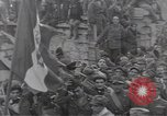 Image of Gabriele D'Annunzio leads force of volunteers Fiume Croatia, 1919, second 51 stock footage video 65675025861