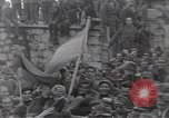 Image of Gabriele D'Annunzio leads force of volunteers Fiume Croatia, 1919, second 52 stock footage video 65675025861