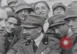 Image of Gabriele D'Annunzio leads force of volunteers Fiume Croatia, 1919, second 58 stock footage video 65675025861