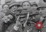 Image of Gabriele D'Annunzio leads force of volunteers Fiume Croatia, 1919, second 59 stock footage video 65675025861