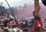 Image of Wrecked US Army UH-1H helicopter A Shau Valley Vietnam, 1968, second 1 stock footage video 65675026858