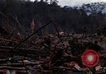 Image of Wrecked US Army UH-1H helicopter A Shau Valley Vietnam, 1968, second 8 stock footage video 65675026858