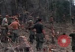 Image of Wrecked US Army UH-1H helicopter A Shau Valley Vietnam, 1968, second 43 stock footage video 65675026858