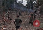 Image of Wrecked US Army UH-1H helicopter A Shau Valley Vietnam, 1968, second 46 stock footage video 65675026858