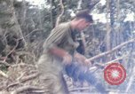 Image of Wrecked US Army UH-1H helicopter A Shau Valley Vietnam, 1968, second 53 stock footage video 65675026858