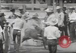 Image of Junior Rodeo John Day Oregon USA, 1954, second 37 stock footage video 65675027005