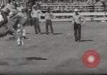 Image of Junior Rodeo John Day Oregon USA, 1954, second 54 stock footage video 65675027005