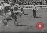 Image of Junior Rodeo John Day Oregon USA, 1954, second 55 stock footage video 65675027005