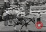 Image of Junior Rodeo John Day Oregon USA, 1954, second 60 stock footage video 65675027005