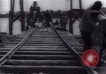 Image of View from wooden fishing boat Russia, 1917, second 35 stock footage video 65675027129