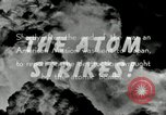 Image of Trinity atomic explosion test Hiroshima Japan, 1946, second 20 stock footage video 65675027674