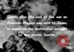 Image of Trinity atomic explosion test Hiroshima Japan, 1946, second 22 stock footage video 65675027674