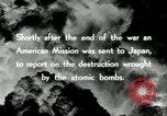 Image of Trinity atomic explosion test Hiroshima Japan, 1946, second 23 stock footage video 65675027674