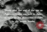 Image of Trinity atomic explosion test Hiroshima Japan, 1946, second 25 stock footage video 65675027674