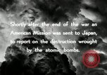 Image of Trinity atomic explosion test Hiroshima Japan, 1946, second 29 stock footage video 65675027674