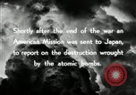 Image of Trinity atomic explosion test Hiroshima Japan, 1946, second 31 stock footage video 65675027674