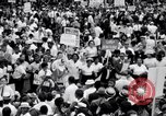Image of Marian Anderson at March Washington DC USA, 1963, second 2 stock footage video 65675028221