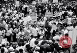 Image of Marian Anderson at March Washington DC USA, 1963, second 3 stock footage video 65675028221