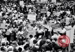 Image of Marian Anderson at March Washington DC USA, 1963, second 4 stock footage video 65675028221