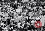 Image of Marian Anderson at March Washington DC USA, 1963, second 5 stock footage video 65675028221