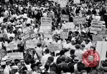 Image of Marian Anderson at March Washington DC USA, 1963, second 9 stock footage video 65675028221