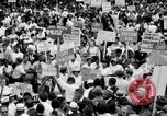 Image of Marian Anderson at March Washington DC USA, 1963, second 10 stock footage video 65675028221