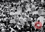Image of Marian Anderson at March Washington DC USA, 1963, second 16 stock footage video 65675028221
