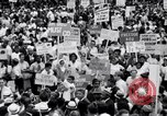 Image of Marian Anderson at March Washington DC USA, 1963, second 17 stock footage video 65675028221