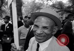 Image of Marian Anderson at March Washington DC USA, 1963, second 38 stock footage video 65675028221