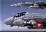 Image of Desert Storm US aircraft Iraq, 1991, second 42 stock footage video 65675028320