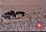Image of US tanks Iraq, 1991, second 9 stock footage video 65675028321