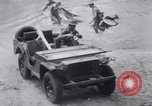 Image of US 4th Engineers troops with Bantam Jeep Fort Benning Georgia USA, 1941, second 46 stock footage video 65675028751