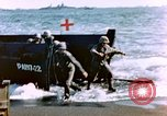 Image of Wounded US Marines on D-Day of Iwo Jima Iwo Jima, 1945, second 7 stock footage video 65675029319