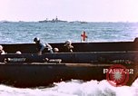 Image of Wounded US Marines on D-Day of Iwo Jima Iwo Jima, 1945, second 18 stock footage video 65675029319