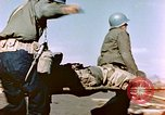 Image of Wounded US Marines on D-Day of Iwo Jima Iwo Jima, 1945, second 23 stock footage video 65675029319