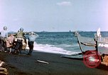 Image of Wounded US Marines on D-Day of Iwo Jima Iwo Jima, 1945, second 31 stock footage video 65675029319