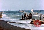 Image of Wounded US Marines on D-Day of Iwo Jima Iwo Jima, 1945, second 38 stock footage video 65675029319